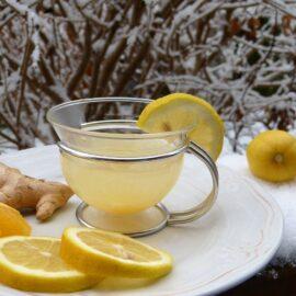 Ingwer-Honig-Tee